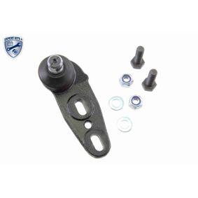 VAICO Trag-/Führungsgelenk V10-7206 für AUDI 80 (81, 85, B2) 1.8 GTE quattro (85Q) ab Baujahr 03.1985, 110 PS