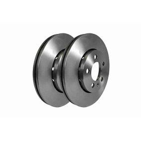 Brake Disc Brake Disc Thickness: 22mm, Num. of holes: 5, Rim: 5-Hole, Ø: 256mm with OEM Number 8Z0615301D