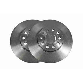 Bremsscheibe Bremsscheibendicke: 25mm, Felge: 9-loch, Ø: 288mm mit OEM-Nummer 1K0 615 301 K