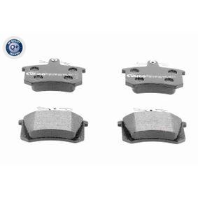 VAICO Bremsbelagsatz, Scheibenbremse V10-8117 für AUDI 80 (8C, B4) 2.8 quattro ab Baujahr 09.1991, 174 PS