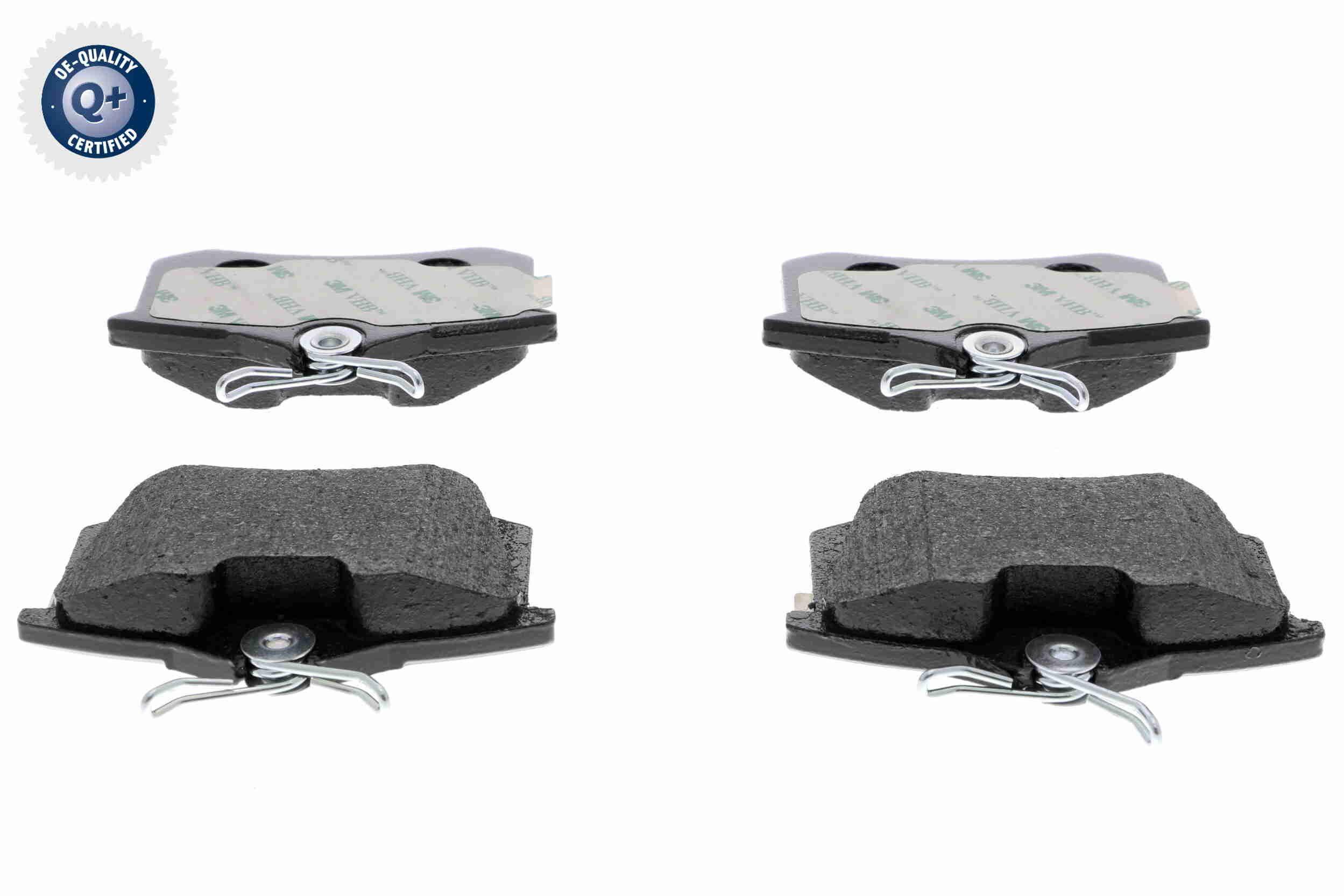 VAICO  V10-8168 Jogo de pastilhas para travão de disco Largura: 87,6mm, Altura: 52,9mm, Espessura: 17,2mm