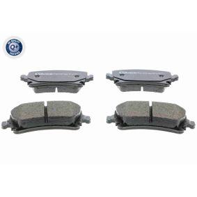 Bremsbelagsatz, Scheibenbremse Breite: 105,3mm, Höhe: 55,9mm, Dicke/Stärke: 17,1mm mit OEM-Nummer 4F0698451D