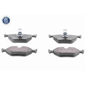 VAICO  V20-8104 Bremsbelagsatz, Scheibenbremse Breite: 123mm, Höhe: 44,9mm, Dicke/Stärke: 17,3mm