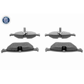 VAICO  V20-8107 Bremsbelagsatz, Scheibenbremse Höhe: 45,2mm, Dicke/Stärke: 17mm