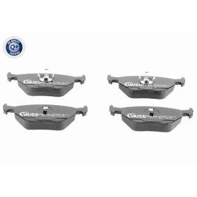 VAICO  V20-8116 Bremsbelagsatz, Scheibenbremse Breite: 123mm, Höhe: 45mm, Dicke/Stärke: 17mm