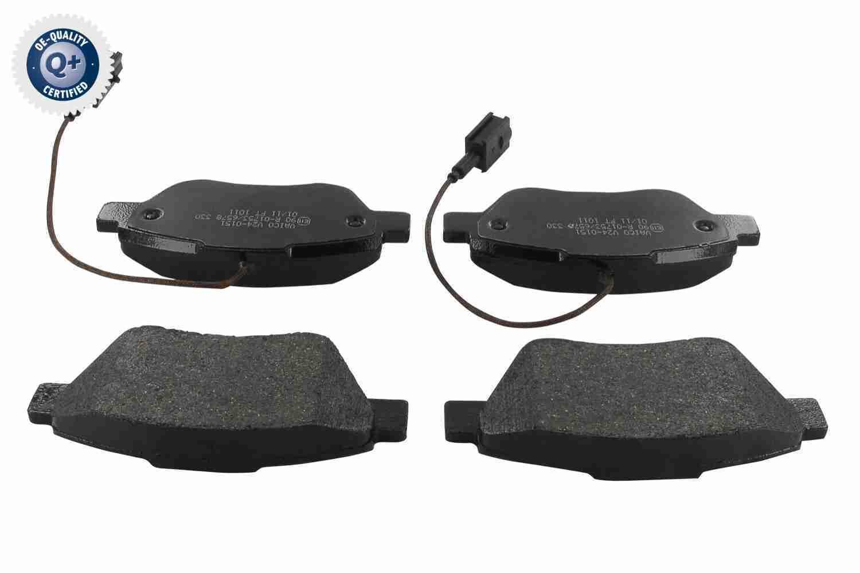 VAICO  V24-0151 Bremsbelagsatz, Scheibenbremse Breite: 122,8mm, Höhe: 53,3mm, Dicke/Stärke: 18mm