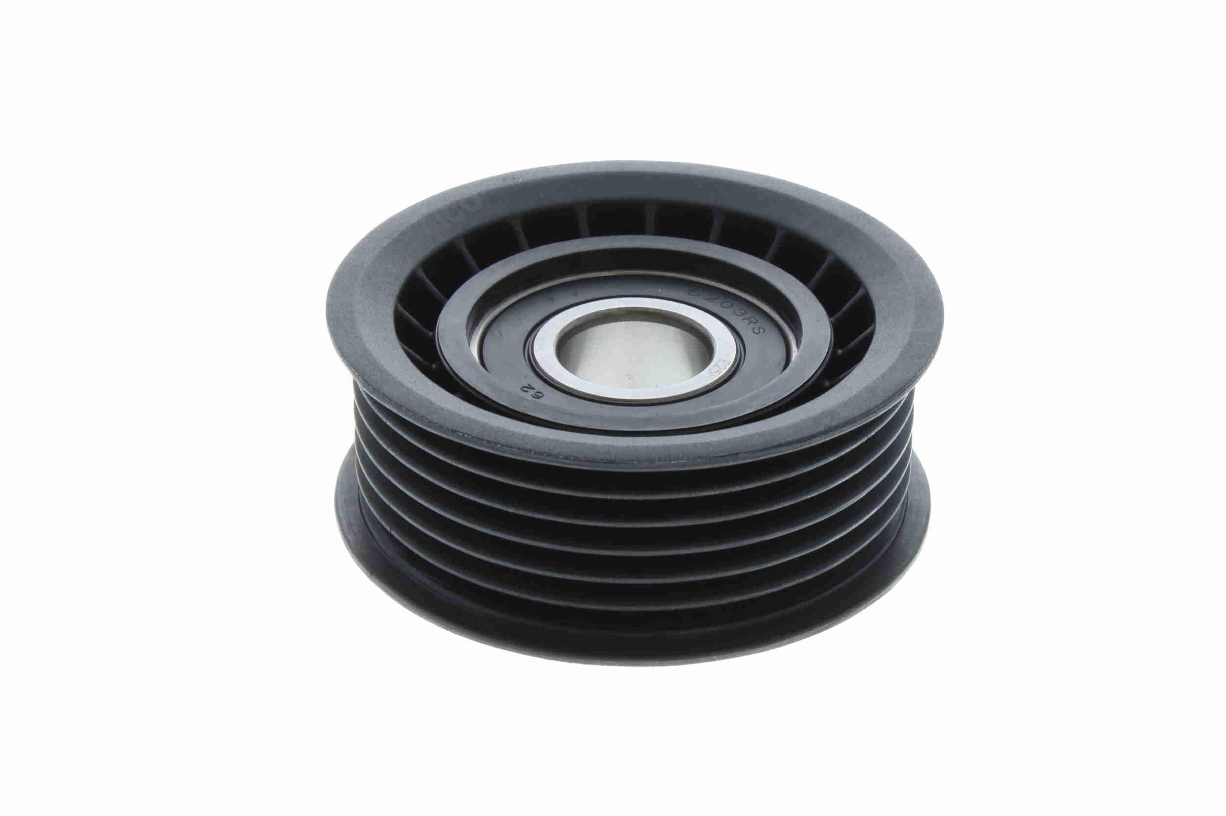 VAICO  V30-0361 Umlenkrolle Keilrippenriemen Ø: 63,5mm, Ø: 63,5mm, Ø: 63,5mm