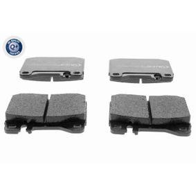 VAICO Bremsbelagsatz, Scheibenbremse V30-8101 für MERCEDES-BENZ S-CLASS (W116) 280 SE,SEL (116.024) ab Baujahr 08.1972, 185 PS