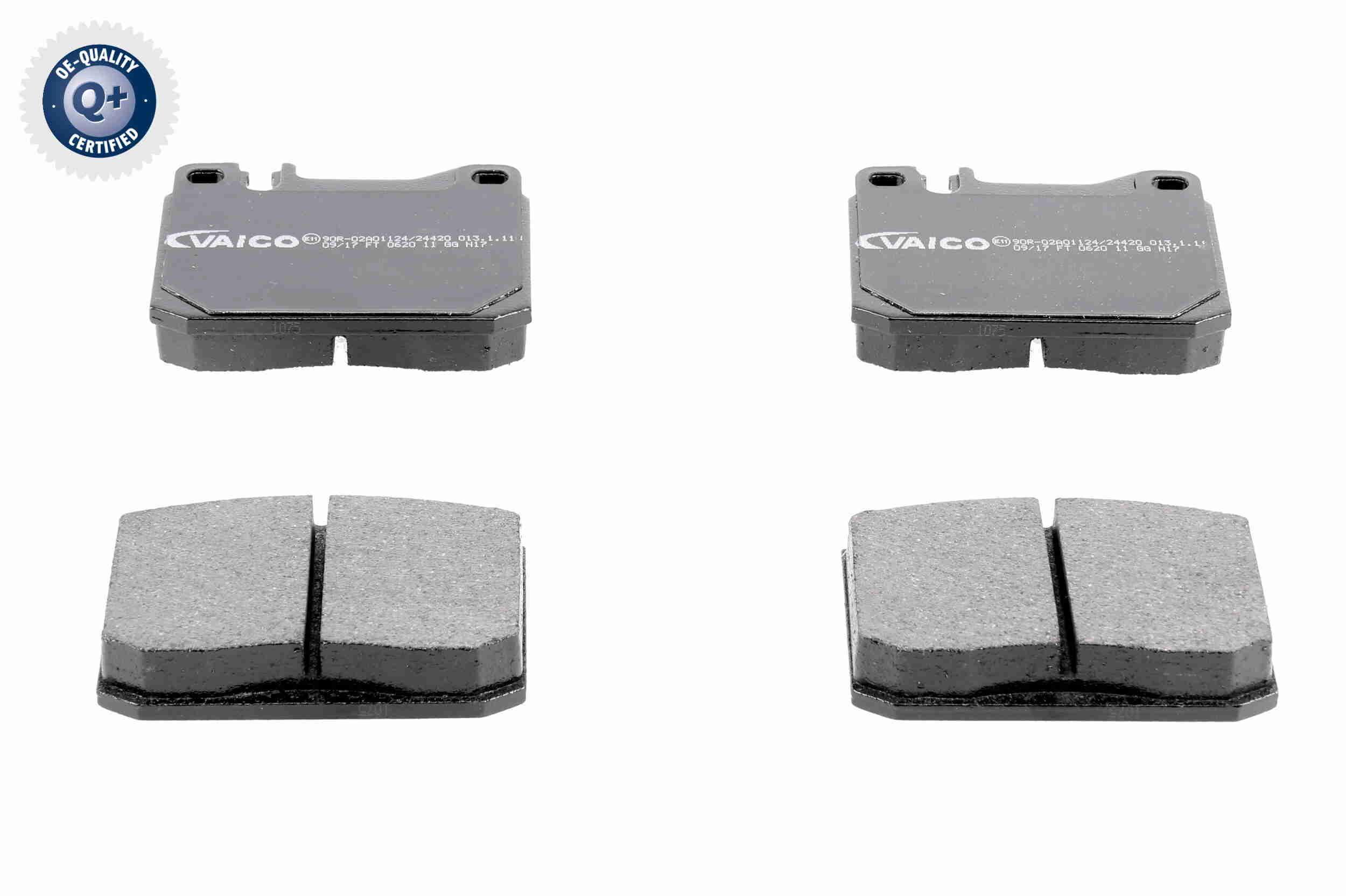 VAICO  V30-8102 Bremsbelagsatz, Scheibenbremse Breite: 89,6mm, Höhe: 73,8mm, Dicke/Stärke: 16,7mm