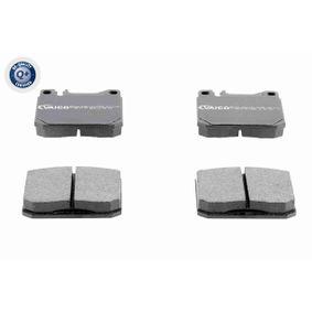 Bremsbelagsatz, Scheibenbremse Breite: 89,6mm, Höhe: 73,8mm, Dicke/Stärke: 16,7mm mit OEM-Nummer A002 586 4642