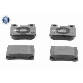 Bremsbelagsatz, Scheibenbremse Breite: 61,8mm, Höhe: 58,6mm, Dicke/Stärke: 15mm mit OEM-Nummer A00 142 09 520