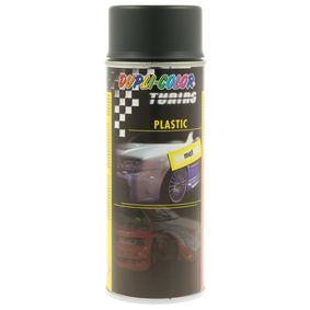 Stoßstangenfarbe DUPLI COLOR 327285 für Auto (PLASTIC anthracite mat 400, Inhalt: 400ml)