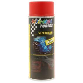 Hitzebeständiger Lack DUPLI COLOR 339127 für Auto (SUPERTHERM red 300°C 400, Inhalt: 400ml)