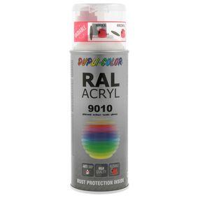 DUPLI COLOR RAL-боя (немски стандарт за цветове) 349799