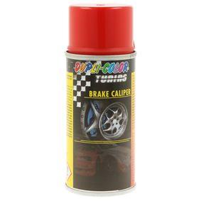 Bremssattellack DUPLI COLOR 706080 für Auto (rot, BRAKE CALIPER SPRAY red 150, Inhalt: 150ml)