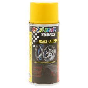 Bremssattellack DUPLI COLOR 706097 für Auto (BRAKE CALIPER SPRAY yell. 150, Inhalt: 150ml)