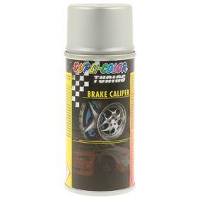 Bremssattellack DUPLI COLOR 736582 für Auto (silber, BRAKE CALIPER SPR. silver 150, Inhalt: 150ml)