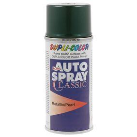 Automotive paints DUPLI COLOR 805318 for car (Spraycan, Green, VOLKSWAGEN, L, CST5396, Contents: 150ml)