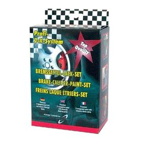 Bremssattellack DUPLI COLOR 889783 für Auto (rot, BREMSSATTEL-SET racingrot)