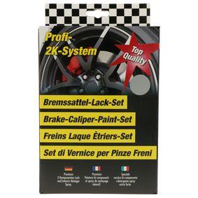 Bremssattellack DUPLI COLOR 899683 für Auto (silber, BREMSSATTEL-SET speedsilber)