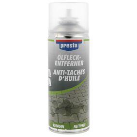 Hochleistungsentfetter PRESTO 157172 für Auto (Öl-Fleck- Entferner-Spray 400, Inhalt: 400ml)