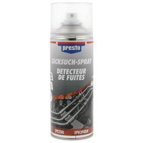 Lecksuchmittel PRESTO 157219 für Auto (Lecksuch-Spray 300, Inhalt: 300ml)