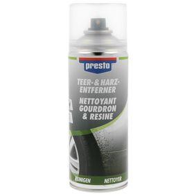 Teerentferner PRESTO 306215 für Auto (Inhalt: 400ml, Teer- und Harz-Entferner 400)