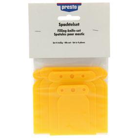 Metallspachtel PRESTO 600238 für Auto (Spachtel Set Plastik)