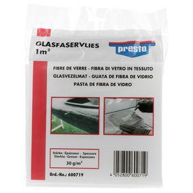 Metallspachtel PRESTO 600719 für Auto (Glasfaservlies 1qm)