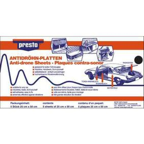 PRESTO Anti-noise mat 608012