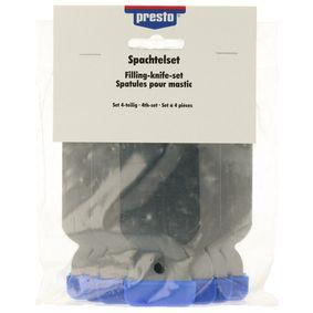 Metallspachtel PRESTO 701832 für Auto (Spachtel Set Metall)