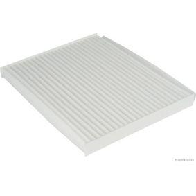 Filter, Innenraumluft Länge: 238,5mm, Breite: 189mm, Höhe: 20mm mit OEM-Nummer 97133-2E260 AT
