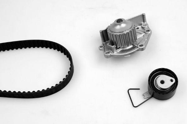 HEPU  PK00451 Wasserpumpe + Zahnriemensatz Breite: 26mm