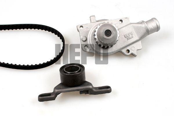 HEPU  PK02010 Wasserpumpe + Zahnriemensatz Breite: 19,75mm