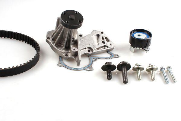 HEPU  PK02550 Wasserpumpe + Zahnriemensatz Breite: 22mm