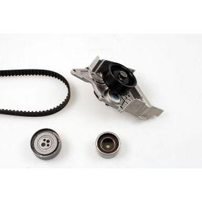 HEPU Wasserpumpe + Zahnriemensatz PK05390 für AUDI 80 (8C, B4) 2.8 quattro ab Baujahr 09.1991, 174 PS
