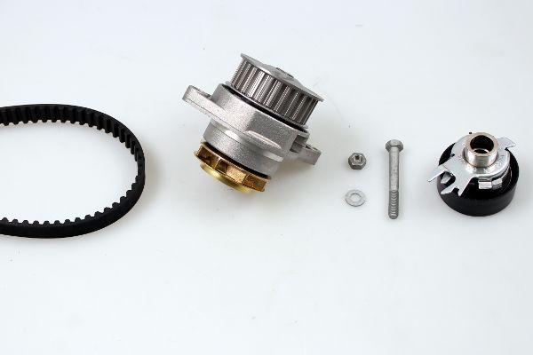 HEPU  PK05401 Kit cinghia distribuzione, pompa acqua Largh.: 19mm