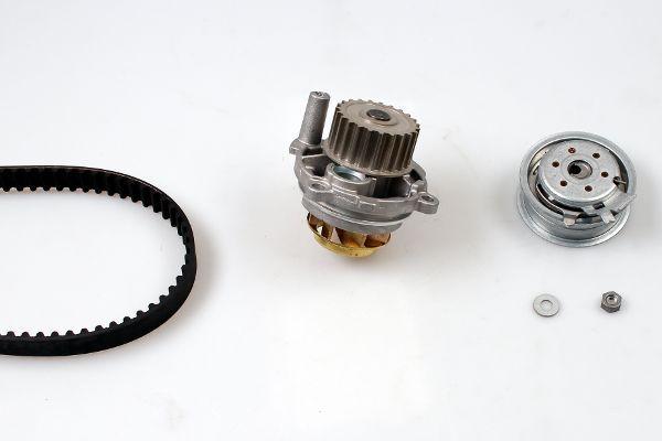 HEPU  PK05450 Kit cinghia distribuzione, pompa acqua Largh.: 23mm