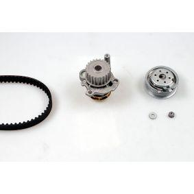 Wasserpumpe + Zahnriemensatz Breite: 23mm mit OEM-Nummer 06A 121 012E