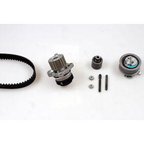 HEPU Wasserpumpe + Zahnriemensatz PK05500 für AUDI A4 (8E2, B6) 1.9 TDI ab Baujahr 11.2000, 130 PS