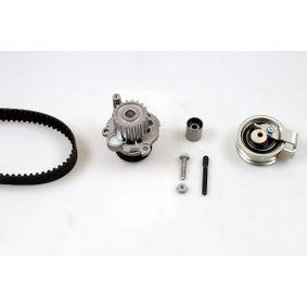 HEPU Wasserpumpe + Zahnriemensatz PK05502 für AUDI A4 (8E2, B6) 1.9 TDI ab Baujahr 11.2000, 130 PS