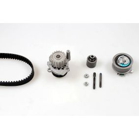 HEPU Wasserpumpe + Zahnriemensatz PK05690 für AUDI A4 (8E2, B6) 1.9 TDI ab Baujahr 11.2000, 130 PS