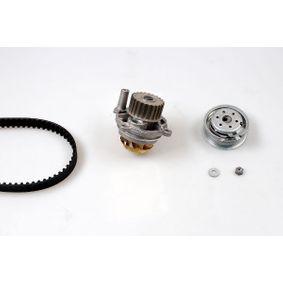 Wasserpumpe + Zahnriemensatz Breite: 23mm mit OEM-Nummer 06B.121.011.EX