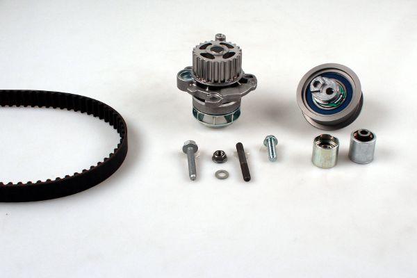 HEPU  PK05870 Σετ ιμάντα χρονισμού με αντλία νερού Πλάτος: 23mm