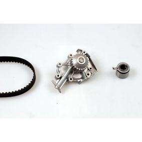 Wasserpumpe + Zahnriemensatz Breite: 25,4mm mit OEM-Nummer 96352965