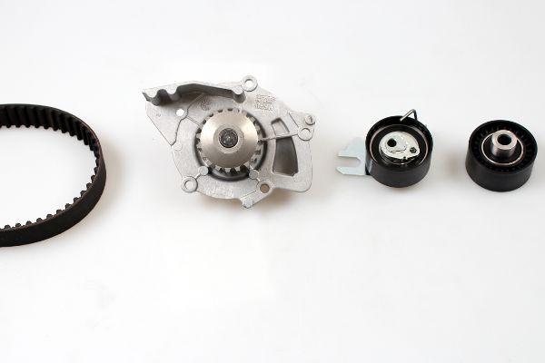 HEPU  PK08010 Water pump and timing belt kit Width: 25mm