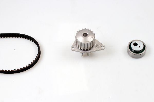 HEPU  PK08131 Wasserpumpe + Zahnriemensatz Breite: 17mm
