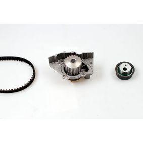 Wasserpumpe + Zahnriemensatz Breite: 17mm mit OEM-Nummer 17400-86CB0