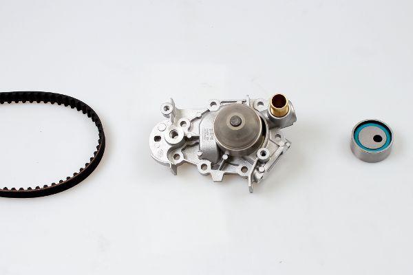 HEPU  PK09160 Wasserpumpe + Zahnriemensatz Breite: 17mm