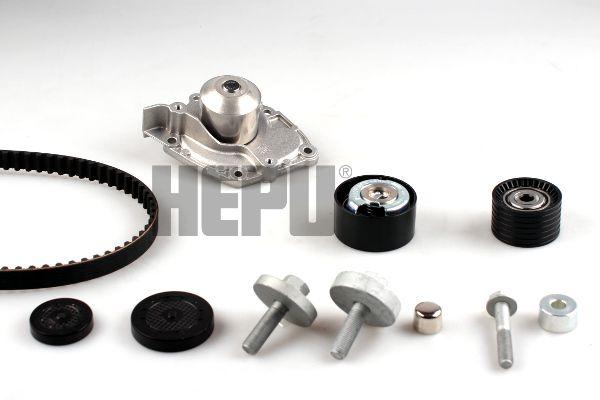 HEPU  PK09550 Wasserpumpe + Zahnriemensatz Breite: 27mm